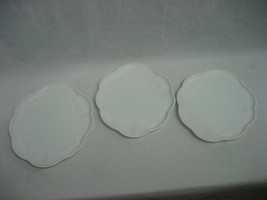 Set of 3 Vintage Indiana Milk Glass Colony Harvest Grape Snack Luncheon ... - $10.35