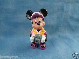 "Disney Applause Tourist Minnie Mouse w/ Camera PVC Figure or Cake Topper 2 1/4""  - $2.55"