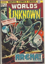 (CB-51) 1973 Marvel Comic Book: Worlds Unknown #4 - $15.00