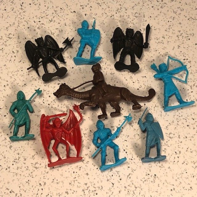 DRAGONRIDERS OF THE STYX MINIATURE PLASTIC ACTION FIGURES MIXED LOT DFC DEMONS for sale  USA