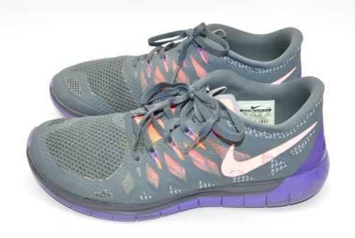 91982fa2d2dd ... Womens Nike Free 5.0 Running Shoes Size 10 US Gray Excellent Conditon  ...