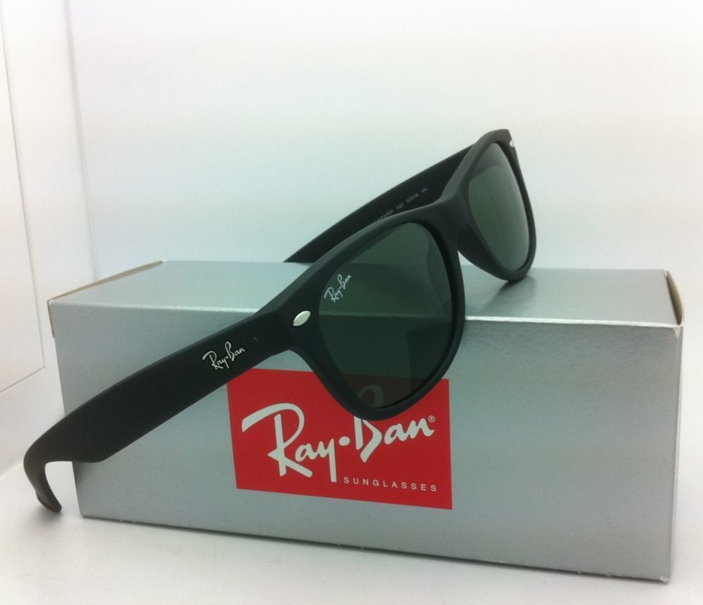 21381af85bf New Ray-Ban Sunglasses RB 2132 NEW WAYFARER 622 52-18 ...