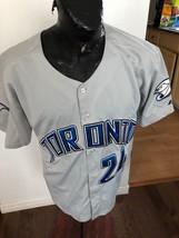 MENS SIZE 48 MAJESTIC Baseball MLB Jersey TORONTO BLUE JAYS #24 Ricky RO... - $28.75