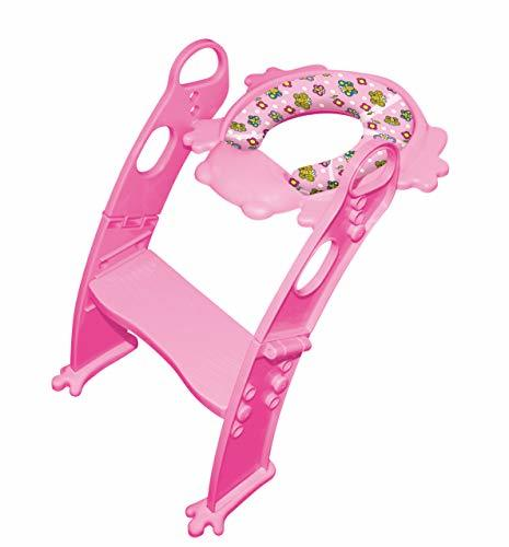 6 COLORS to CHOOSE. Mr Frog - Potty training seat with ladder, toilet HELPER for