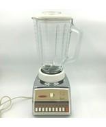 Vintage MCM Oster Osterizer Imperial Atomic Starburst Blender Model 642 Glass SH - $33.95