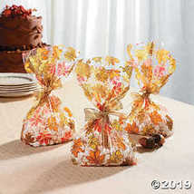 Fall Leaves Cello Bags - $3.86