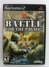 PS2 History Channel: Battle for the Pacific (Sony PlayStation 2, 2007) Complete - $7.95