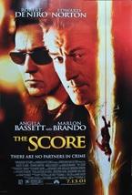THE SCORE CAST Signed Movie Poster x2 - Robert DeNiro & Edward Norton  2... - $429.00