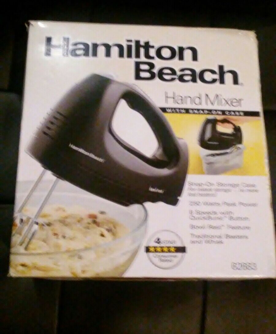 Primary image for Gently used Electric Hamilton Beach Hand Mixer Storage Stand 6 spd  MODEL 62683