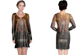 Ghost Rider Women's Long Sleeve Night Dress - $23.80+