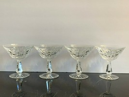 Waterford Crystal ROSSLARE Champagne Sherbet Glasses - $105.00