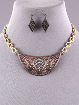 Fashion Rhinestone Bib Necklace Set - $8.90