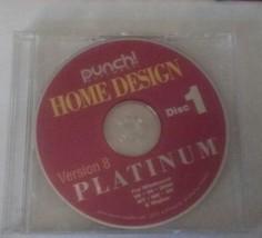 Punch Professional Home Design Platinum Version 8 Home & Landscape Softw... - $23.36