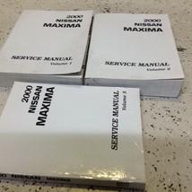 2000 Nissan Maxima Service Shop Reparatur Werkstatt Manuell Set Neu Fabrik - $425.64