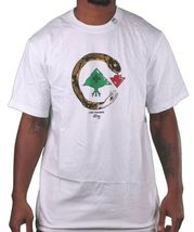 L-R-G LRG Cold Blooded Snake Tree logo Black or White T-Shirt NWT image 4