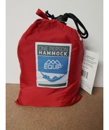 Equip ONE PERSON RED Travel 1.2 lb. Hammock 400 lb. Weight Capacity NEW - $27.99