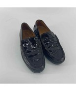 Tod's Gommino Black Patent Leather Driving Loafer Women's 5.5 - $50.00