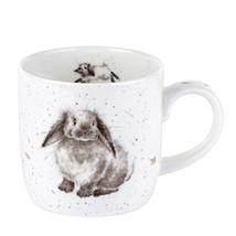Royal Worcester Wrendale Designs Mug - Rosie Rabbit, 11 oz - $14.80