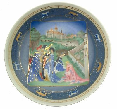 Limoges April Very Rich Hours Jean Duc de Berry Jean Dutheil Limoges Avril