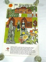 Original Vintage Poster - American London Transport USA Bicentennial 1976 - $100.00