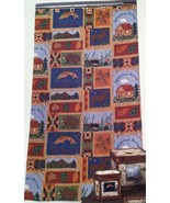 New Creative Bath Fabric shower curtain Hautman Brothers Cabin scenes 70... - $22.76