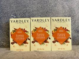 Yardley London Pumpkin Cream & Cinnamon Bar Soap 4.25oz, 3 Bars - $21.99