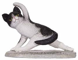 Gnz Cute and Funny Yoga Lovers Yoga Cat Polystone Figurine in Choice of ... - £15.20 GBP