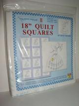 """Jack Dempsey Needle Art: 18"""" Quilt Squares- Parasol Lady Item 732 Patter... - $12.95"""