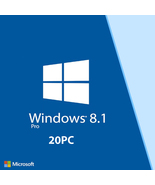 Windows 8.1 Professional Pro License Retail Product Key For 20PC - $99.99