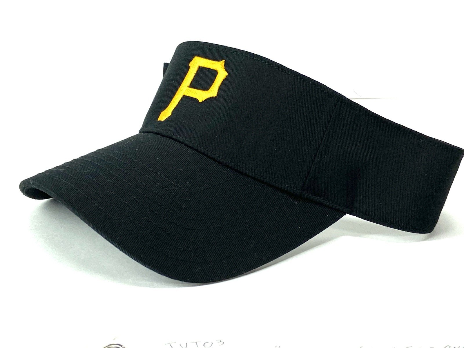 "Primary image for Pittsburgh Pirates Vintage MLB Logo ""P"" Visor (New) By Outdoor Cap Co."