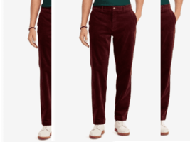 Polo Ralph Lauren Men's Stretch Classic Fit Corduroy Pants, Size 33X32, MSRP $98 - $51.51