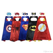 Super Hero Dress Up Costumes With Masks and Capes For Kids Free Shipping - $6.00