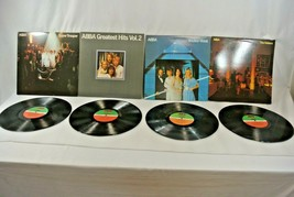 ABBA Greatest Hits Visitors Super Trouper Lot of 4 Record Vinyl Canada V... - $28.84