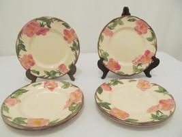 "Franciscan Desert Rose - (6) 7 3/4"" Salad Plates - Made in England - $20.00"