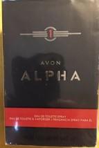 Avon - Alpha Eau de Toilette Spray for men 3.4 oz - $14.84