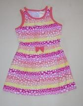 Gymboree Girls Cotton Jersey Leopard Heart Print Dress 4 5 10 NWT - $16.99