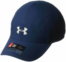 NEW! Under Armour Women's Heatgear Reflective Runner Adjustable Cap-Navy - $42.21