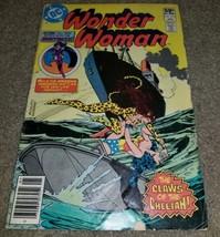 1 DC Comic Wonder Woman 275 Huntress Cheetah App Bronze book 1981 Vintage  - $1.99