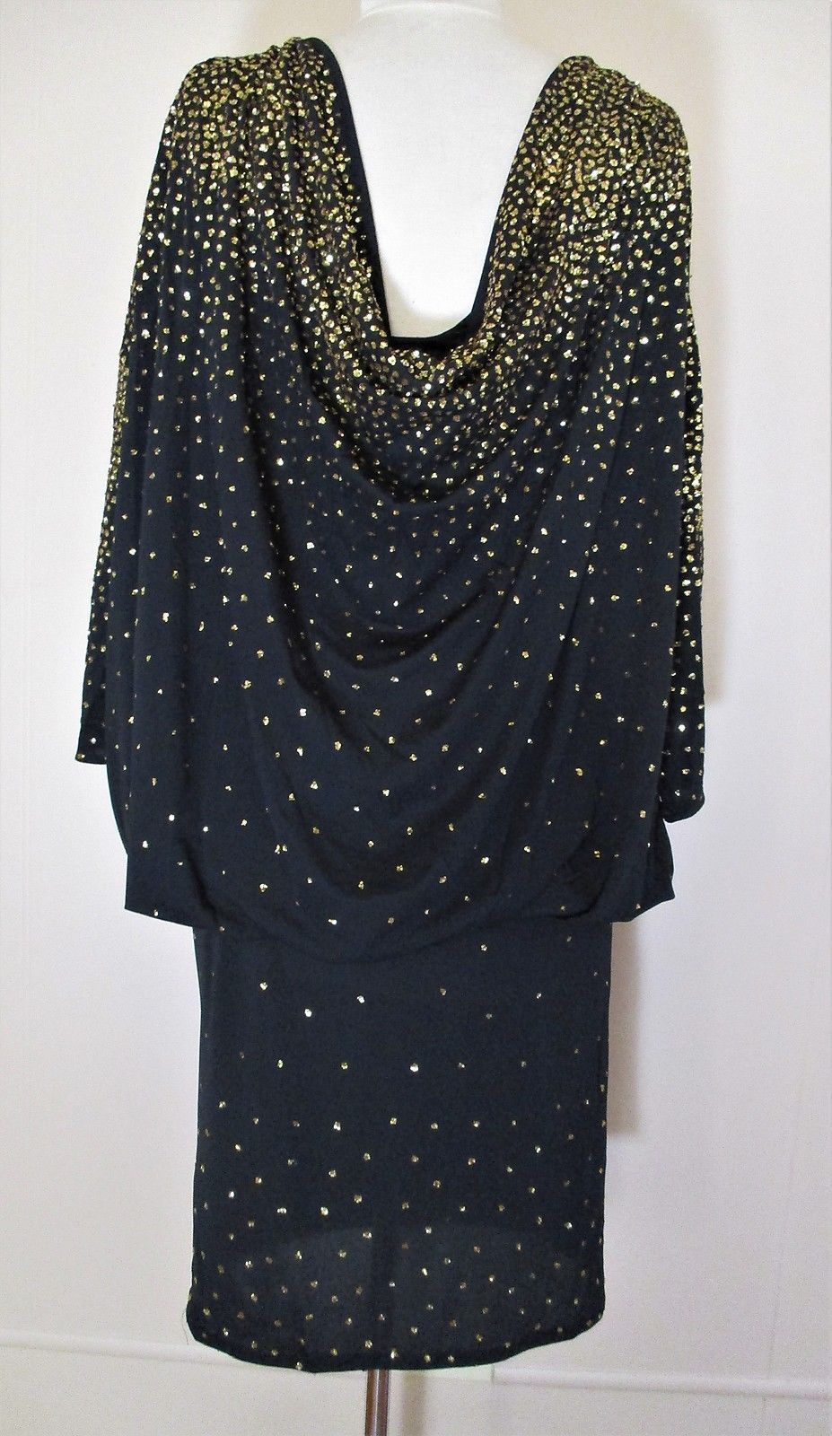 Vintage Lillie Rubin Dress black gold and 22 similar items