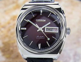 Citizen Manhattan Mens Made In Japan Vintage Manual Wind Rare 1970s Watc... - $518.47 CAD