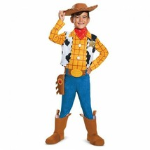 Disguise Disney Toy Story 4 Sheriff Woody Lujo Niños Disfraz Halloween 2... - $33.65