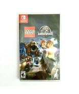 LEGO Jurassic World (Nintendo Switch, 2019) New and Sealed LEGO GAME - $27.95