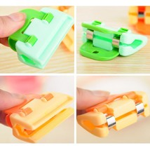 4-Piece Plastic Durable Bag Clips Fresh-Keeping Sealing Clips for Kitche... - £12.72 GBP