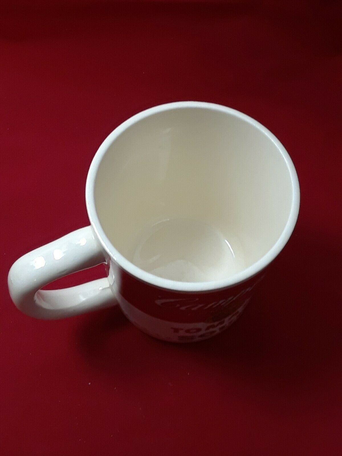 Collectible Campbell's Tomato Soup Mug Cup 8 oz in The Original Styrofoam Mailer image 9