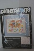 "Vintage -DIMENSIONS No Count Cross Stitch Kit - Bear Pair - 12"" X 9"" - $14.84"