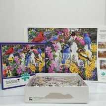 "Buffalo 1000 PC ""Gathering Of Friends"" North American Songbirds Jigsaw P... - $16.99"