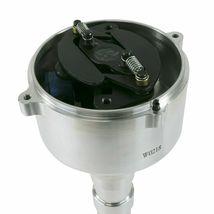 Chevy SB/BB V8 Low-Profile Pro Series Pro Billet Distributor with Crab Cap Black image 4
