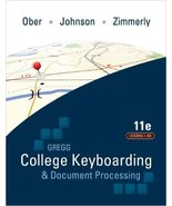 Gregg College Keyboarding & Document Processing Valencia College Value E... - $98.99