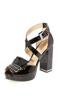 MICHAEL Michael Kors Lindy Platform Pumps Sandals Size 6.5 - $157.41