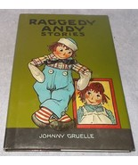 The Raggedy Andy Stories HC DJ 1993 Color Reprint Signed Kim Gruelle Nice - $12.95